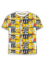 The Simpsons® Tricou Bart Galben 366332