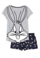 Bugs Bunny® Pijama vara gri 893861