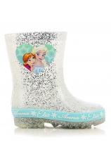Frozen® Cizme cauciuc alb argintiu 103789