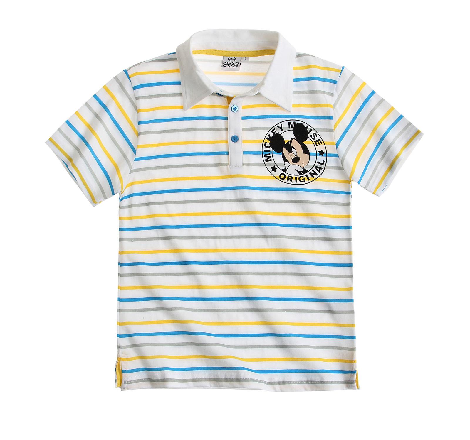 Mickey® Tricou Polo Alb