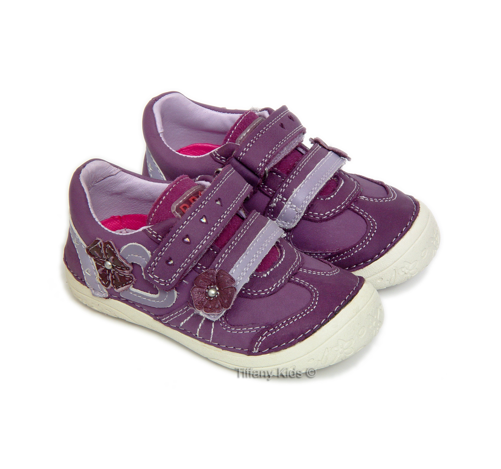 D.D.Step® Pantofi sport piele Lavanda 30172