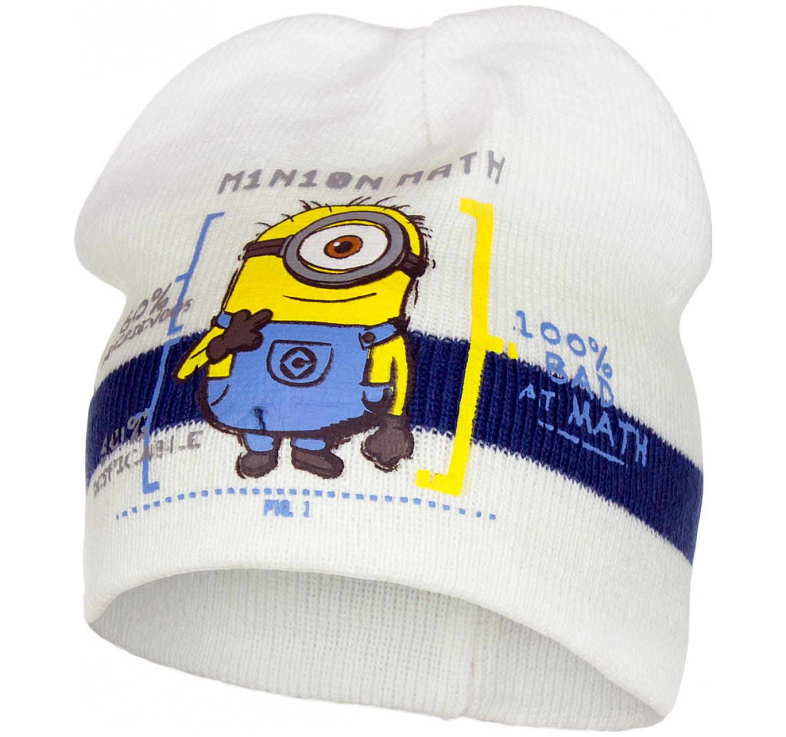 Minions® Caciulita Alb