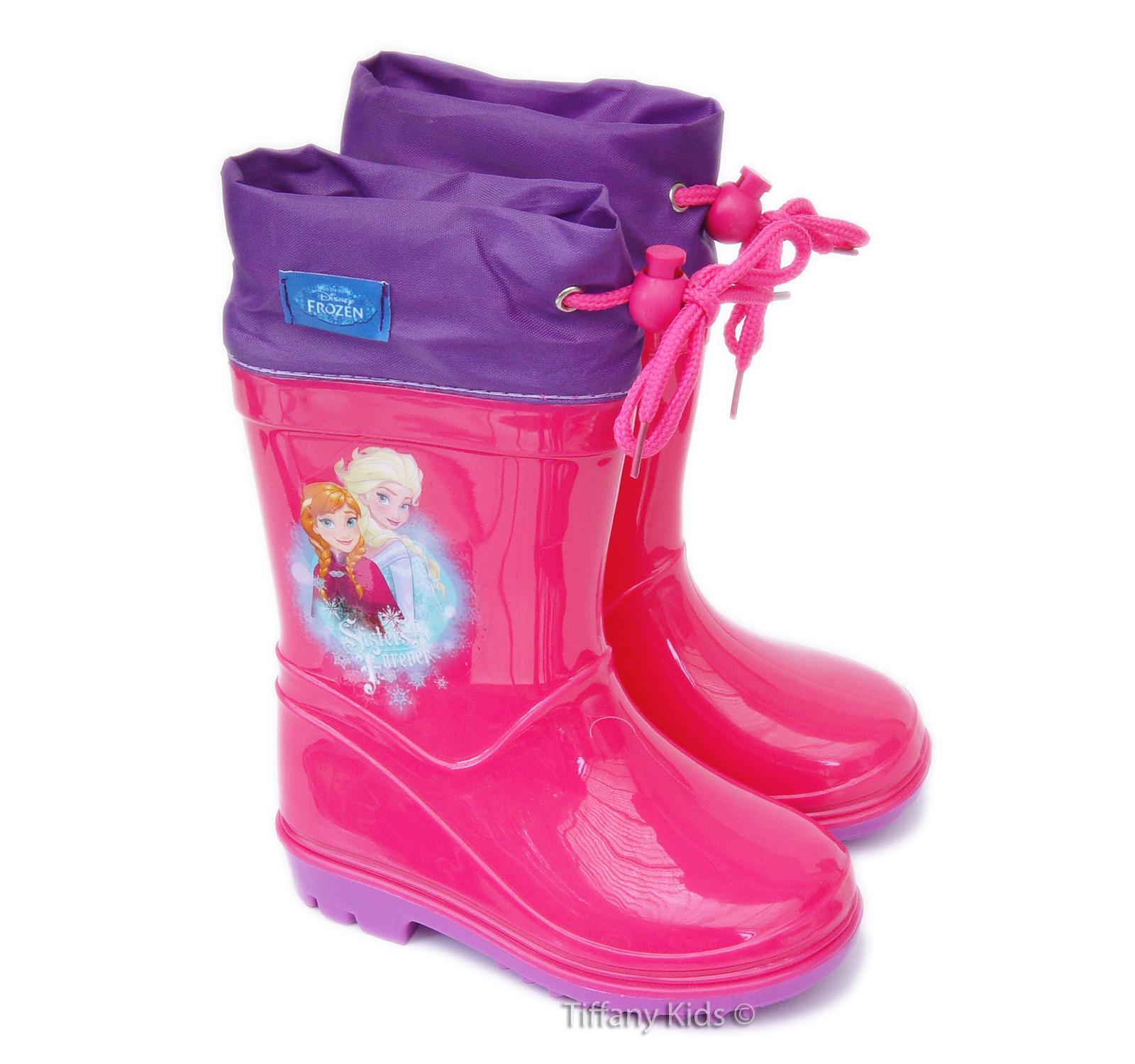 Frozen® Cizme cauciuc Ciclam-Mov