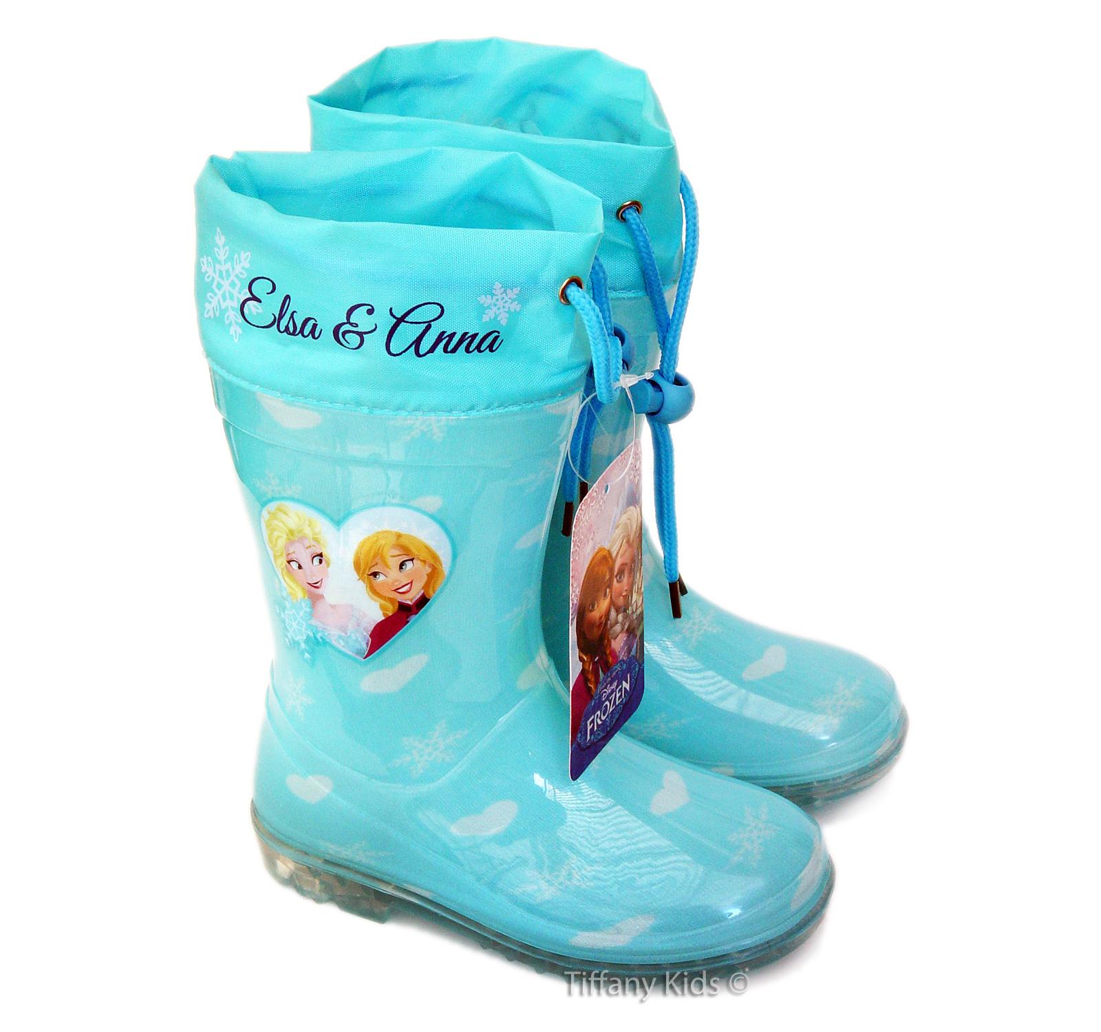 Frozen® Cizme cauciuc Turcoaz