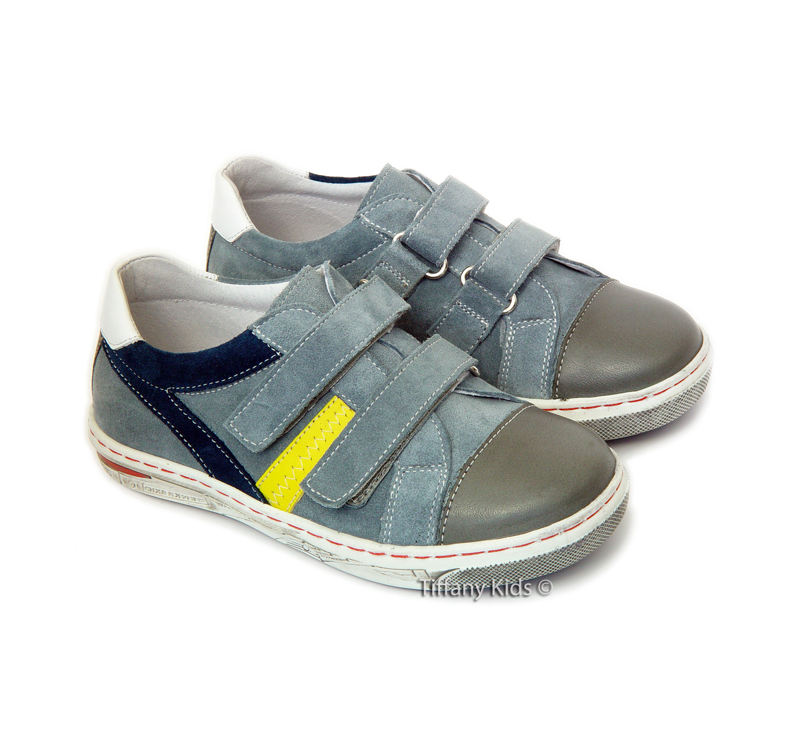 Leofex Pantofi piele Gri