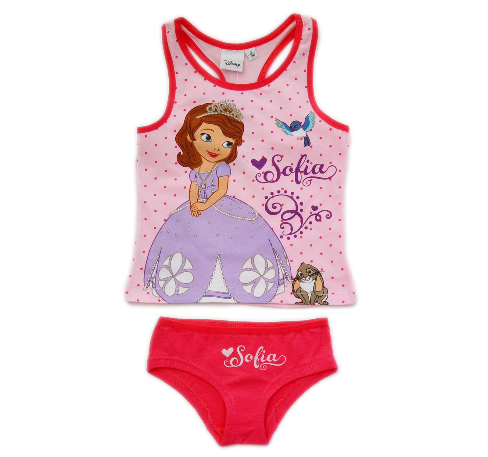 Sofia the First® Set lenjerie (98-116) Roz
