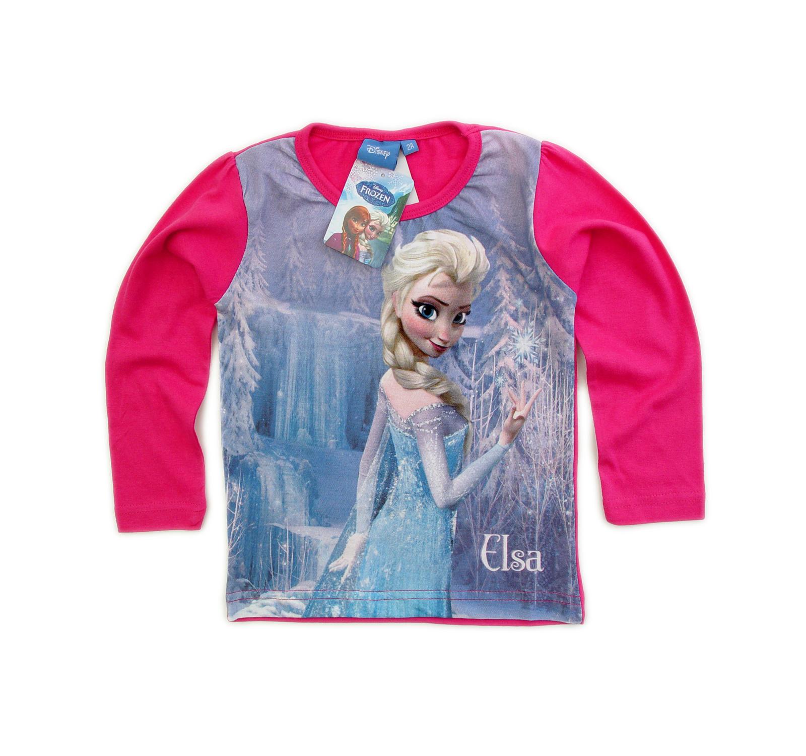 Frozen Bluza (92-116) Fuxia