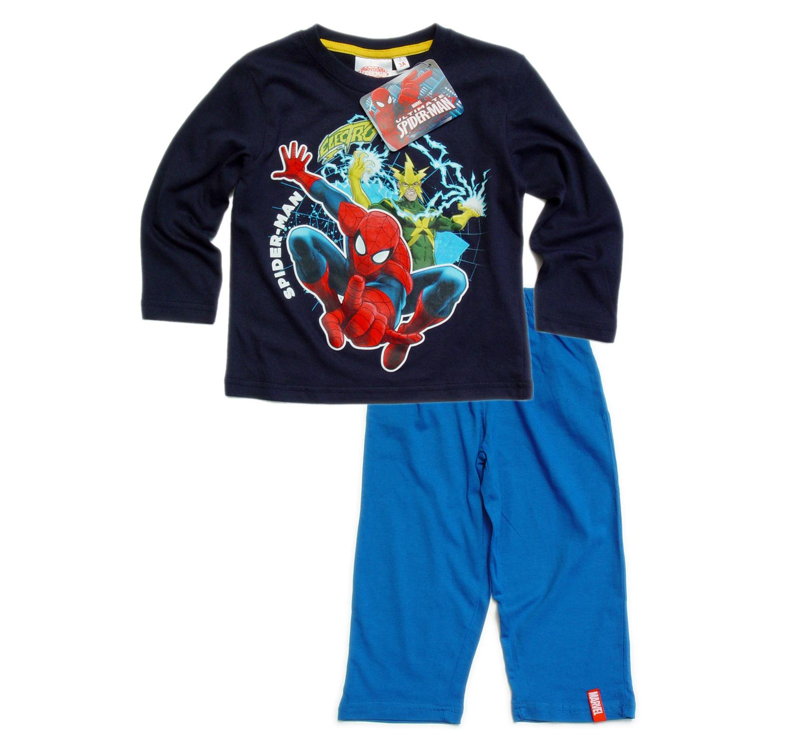Spider-Man® Pijama (98-128) Bleumarin