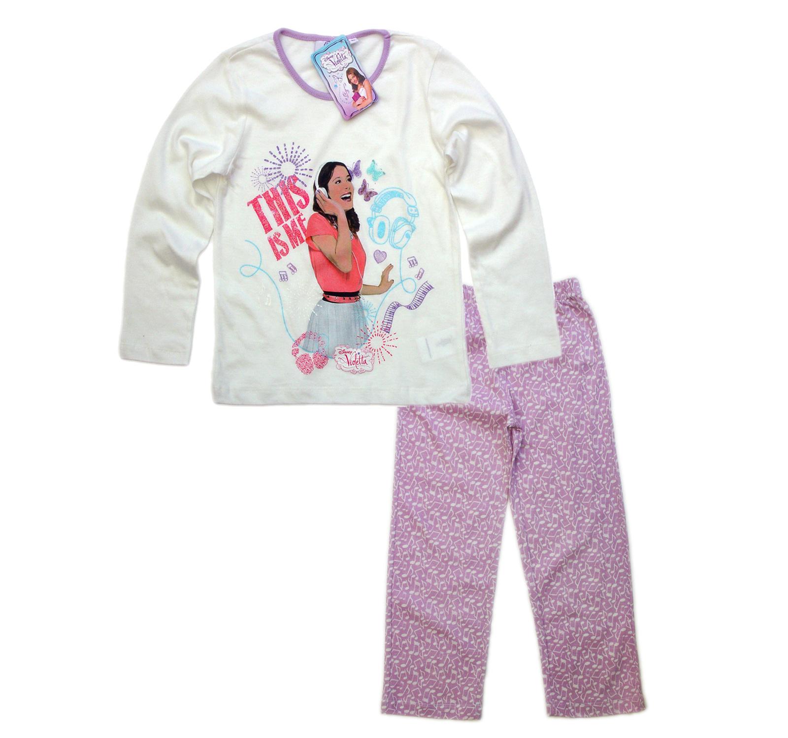 Violetta ® Pijama Alb