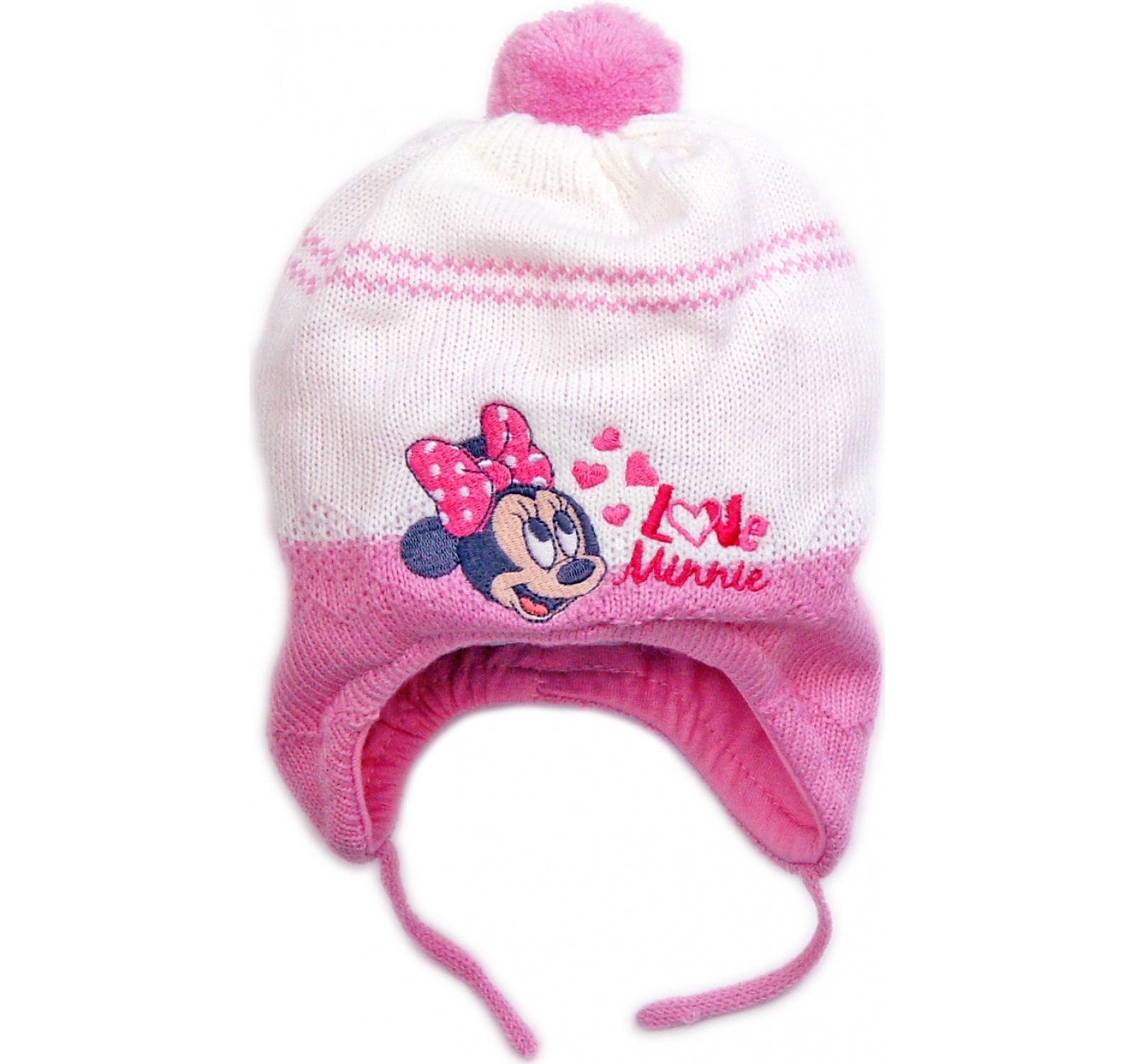 Minnie® Caciulita bebe (42-46) Alb