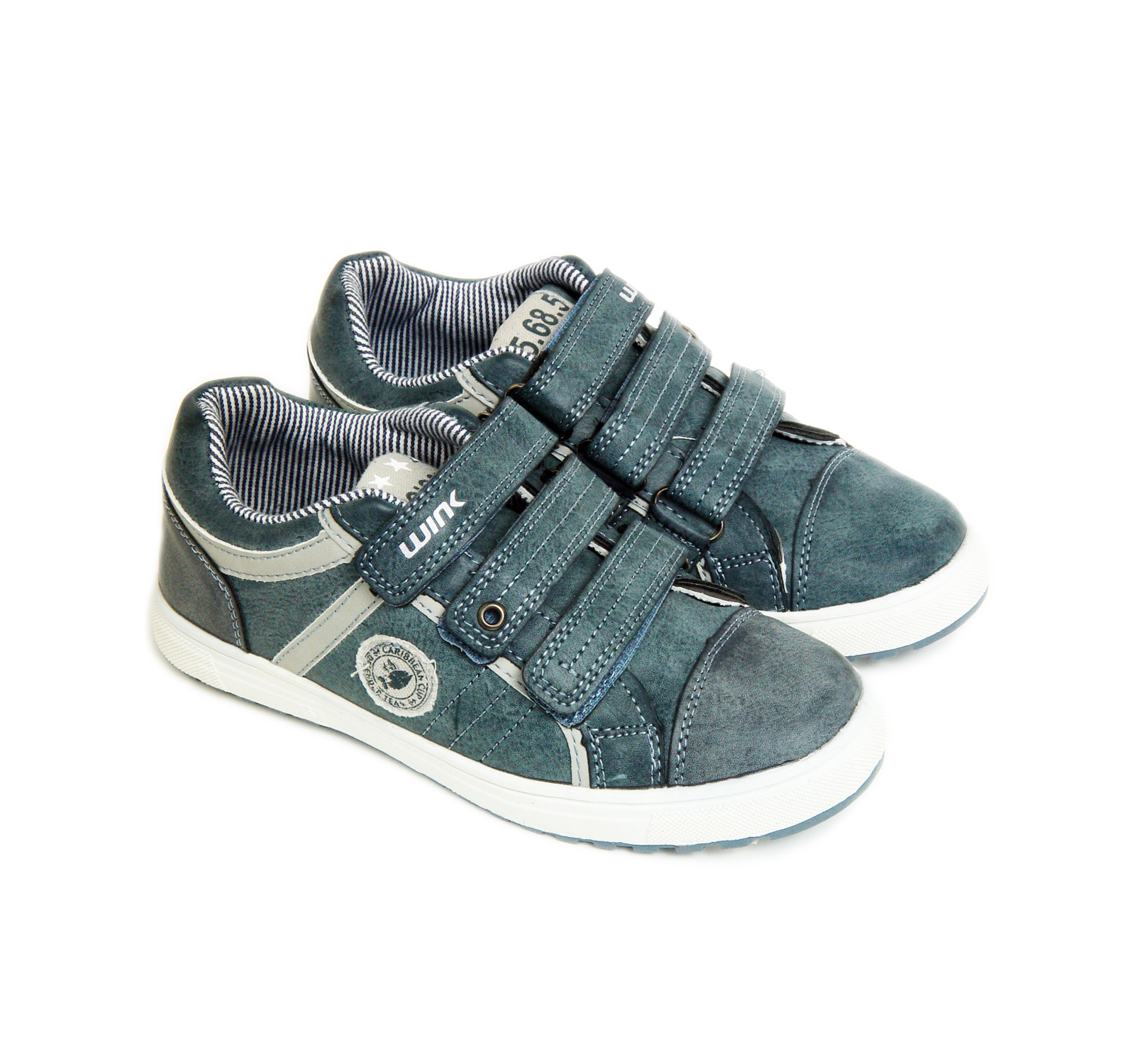 Wink® Pantofi sport eco Denim