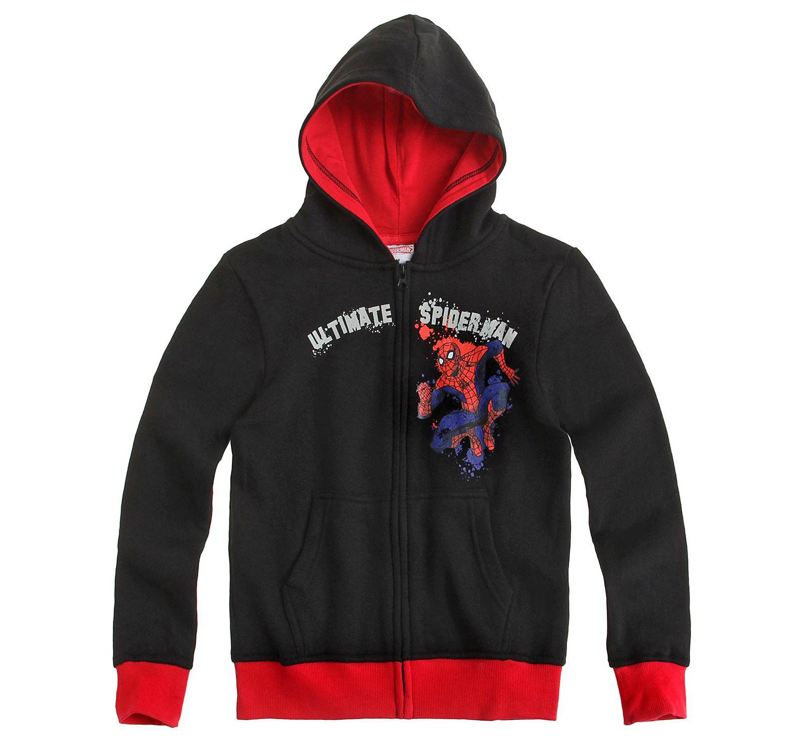 Spider-Man® Hanorac gluga (104-140) Antracit