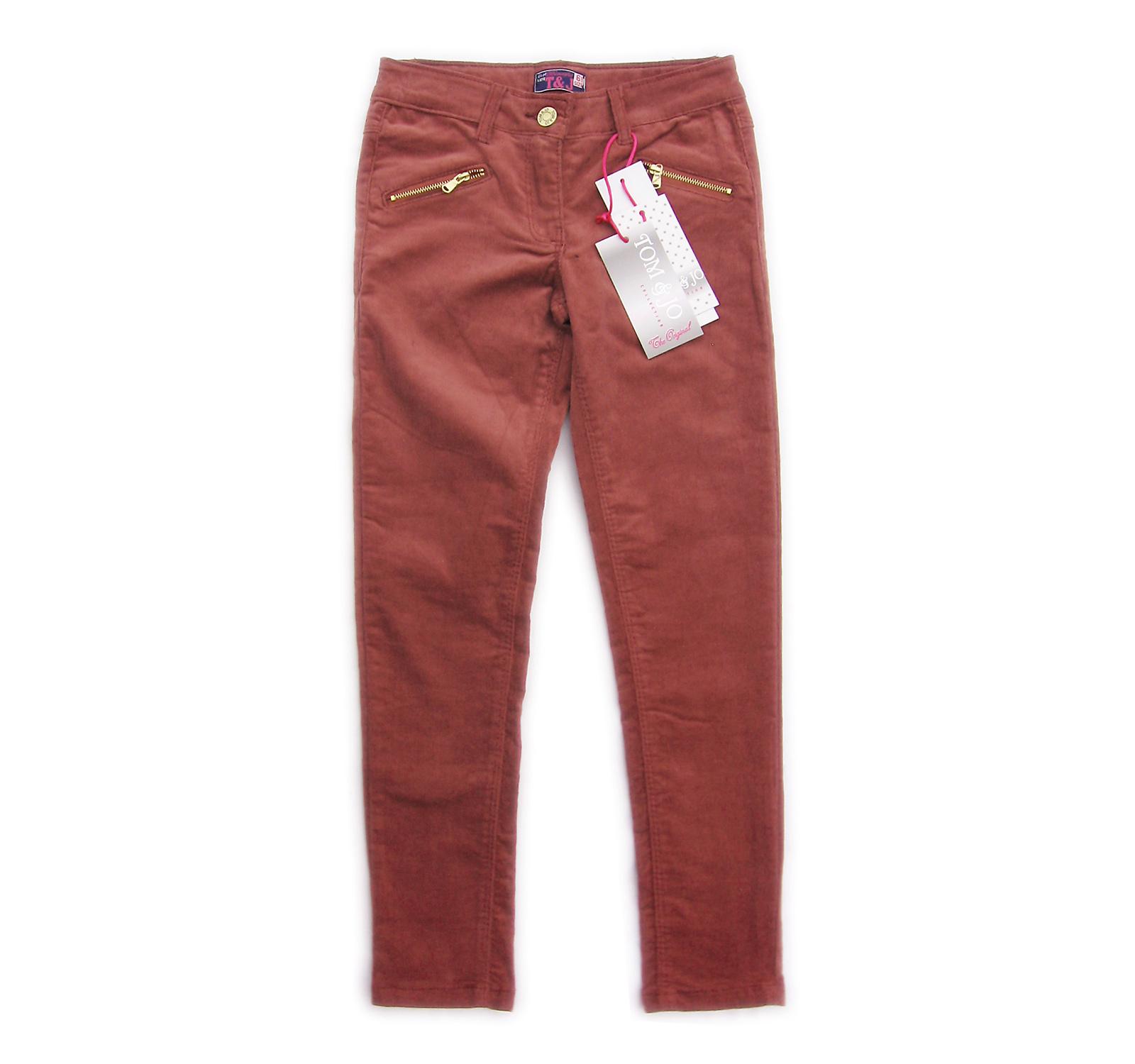 Pantaloni elastici (114-162) Castana
