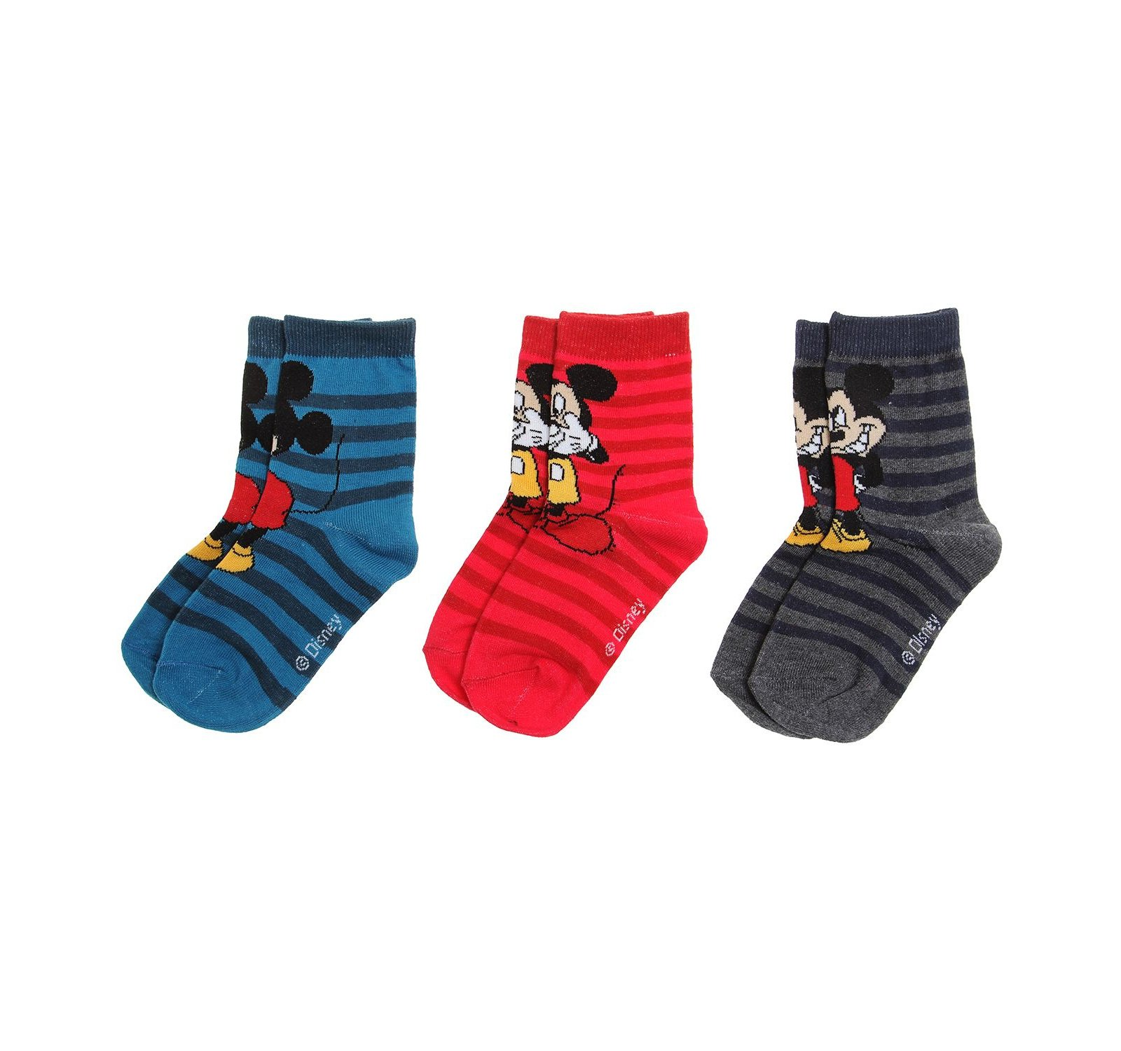 Mickey® Set 3 sosete (23-34) Multicolor