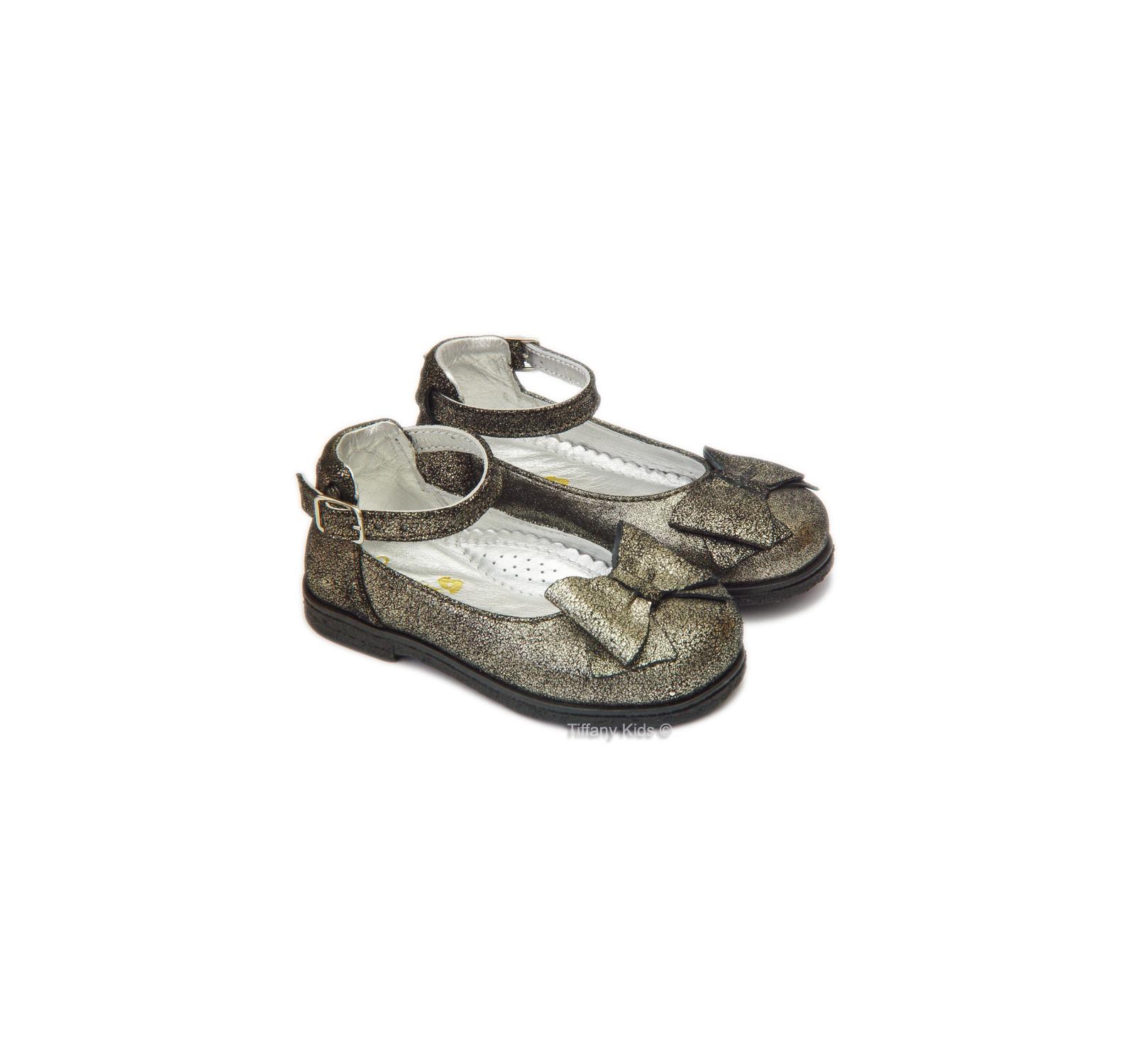 Avus® Balerini piele Metalizat