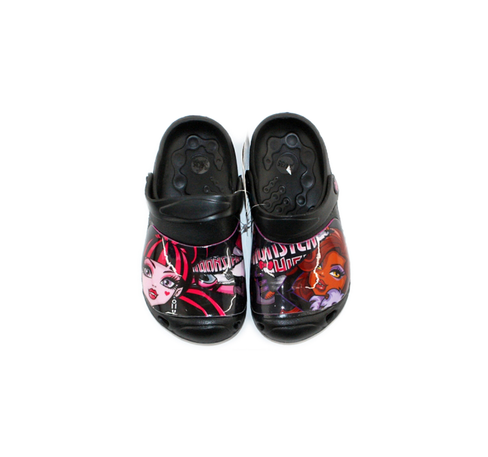 Monster High® Saboti tip Crocs Negru