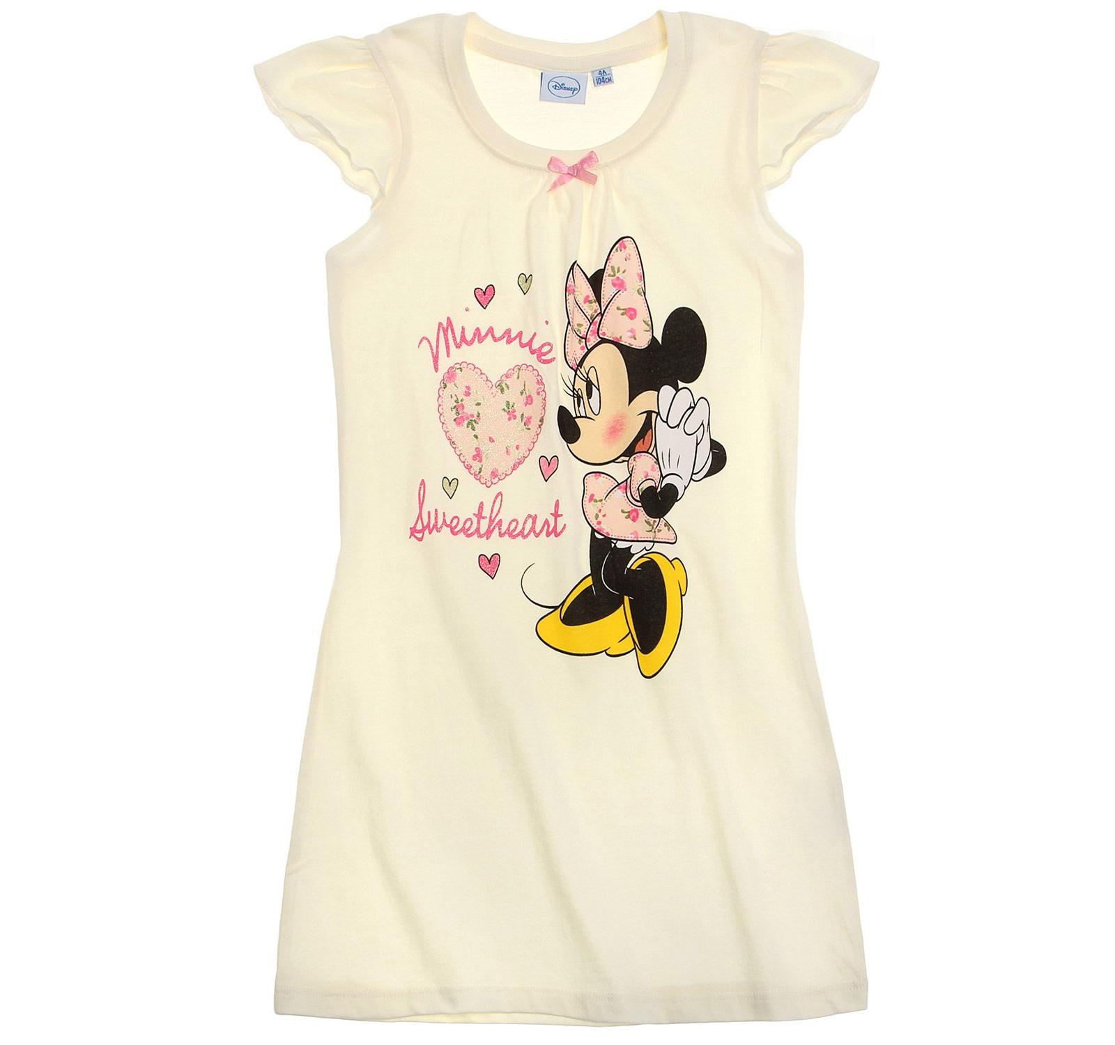 Minnie® Camasa noapte (92-128) Crem