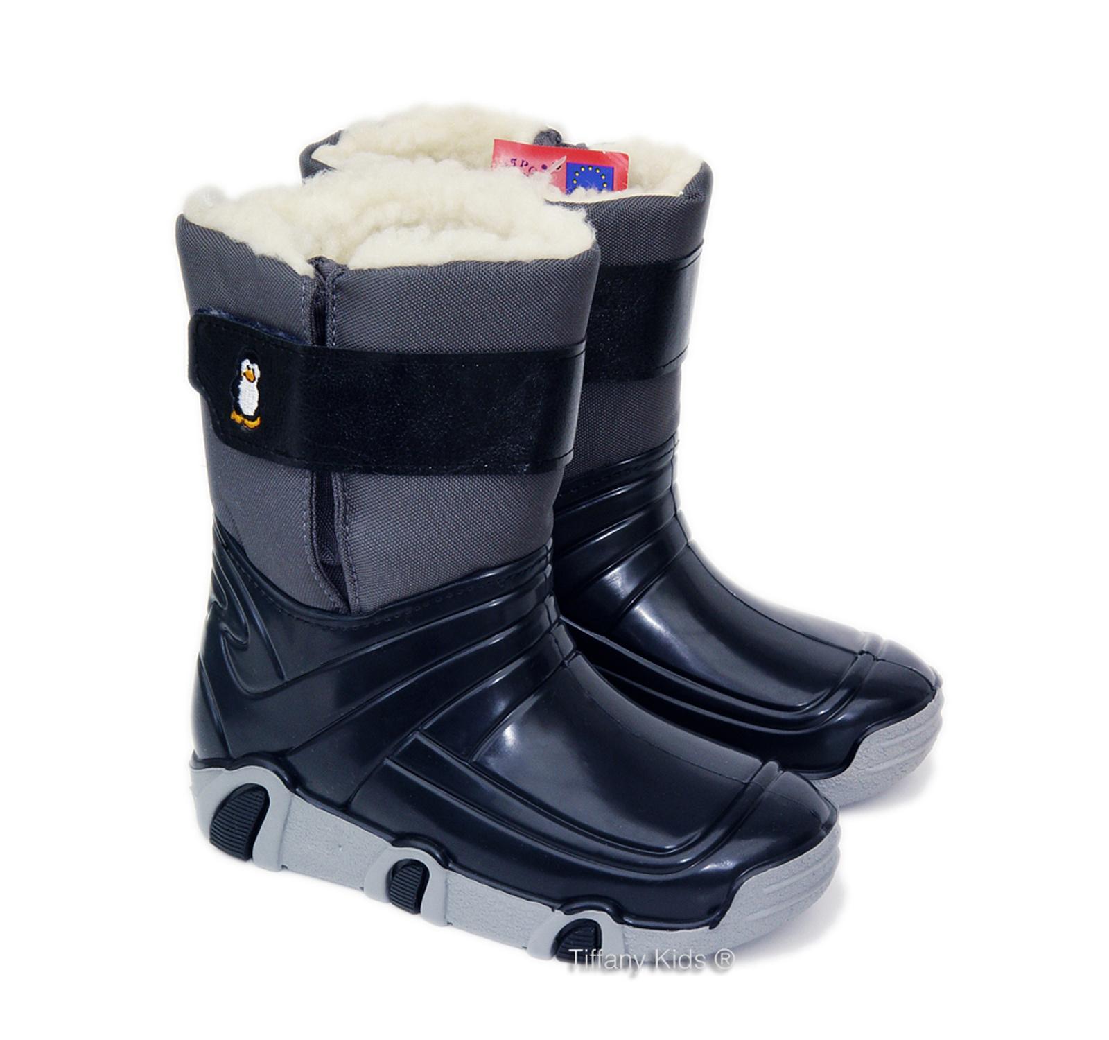 Zetpol® Cizme imblanite Winter 01 Gri petrol