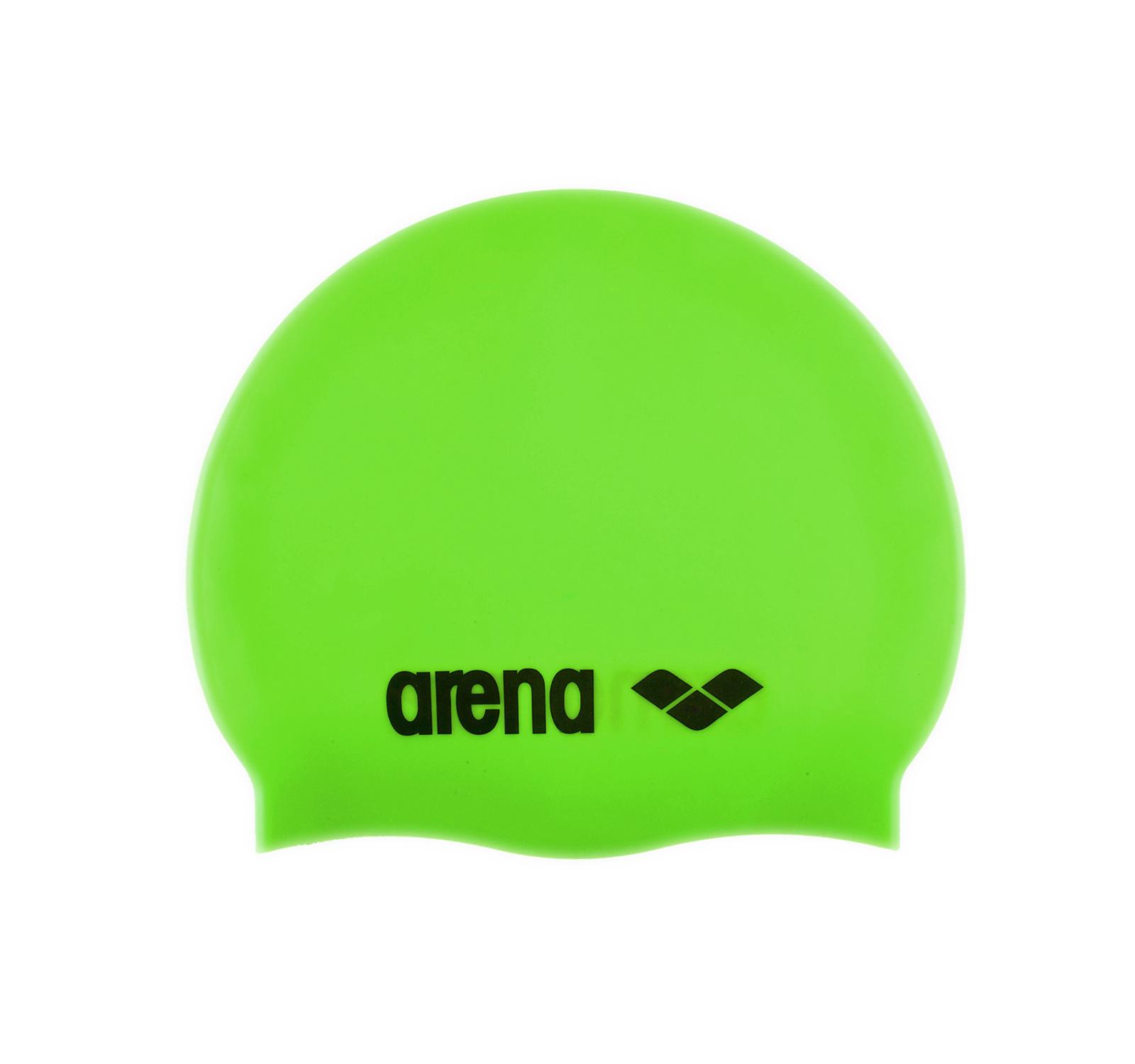 Arena® Clasic Silicon jr. casca (5-10 ani)  Verde
