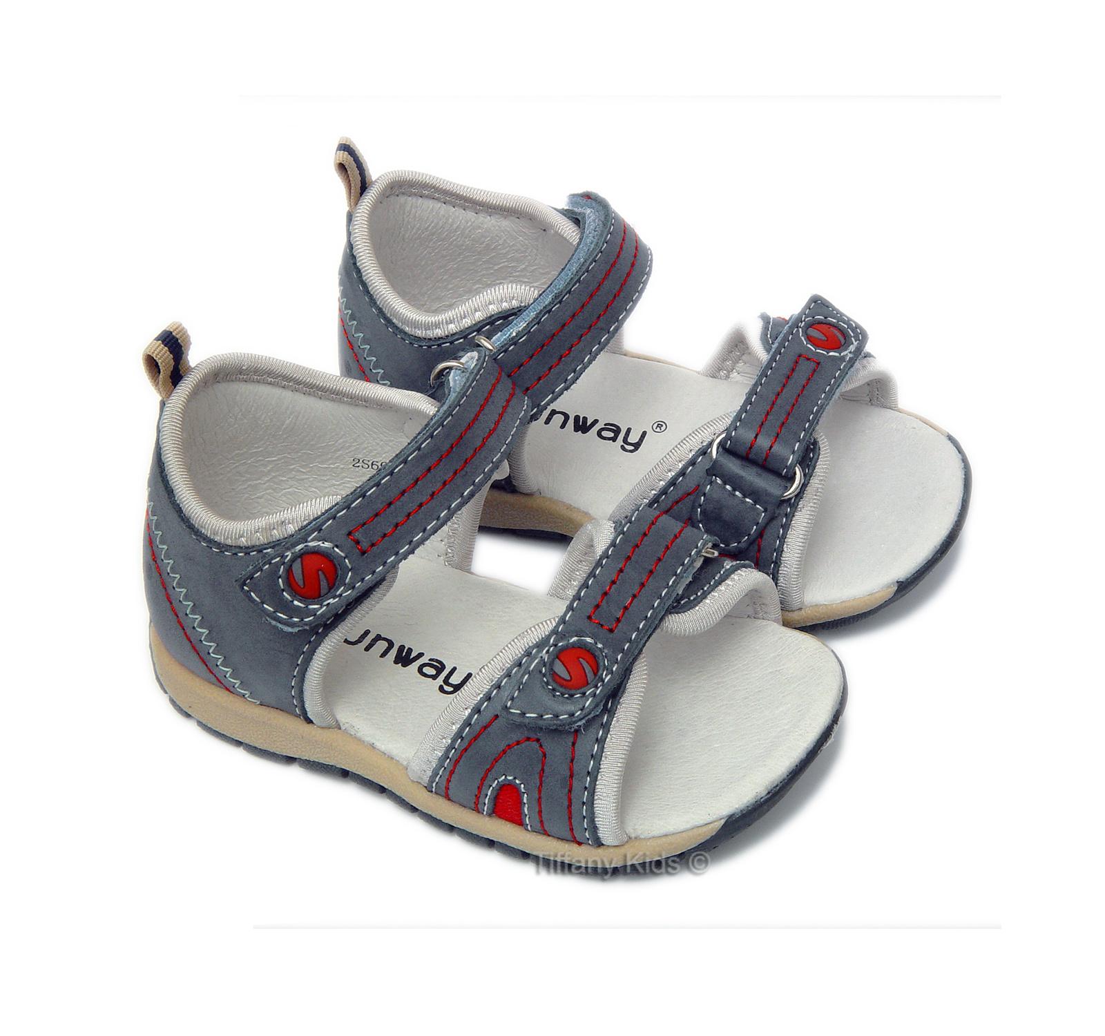 Sunway® Sandale piele Gri