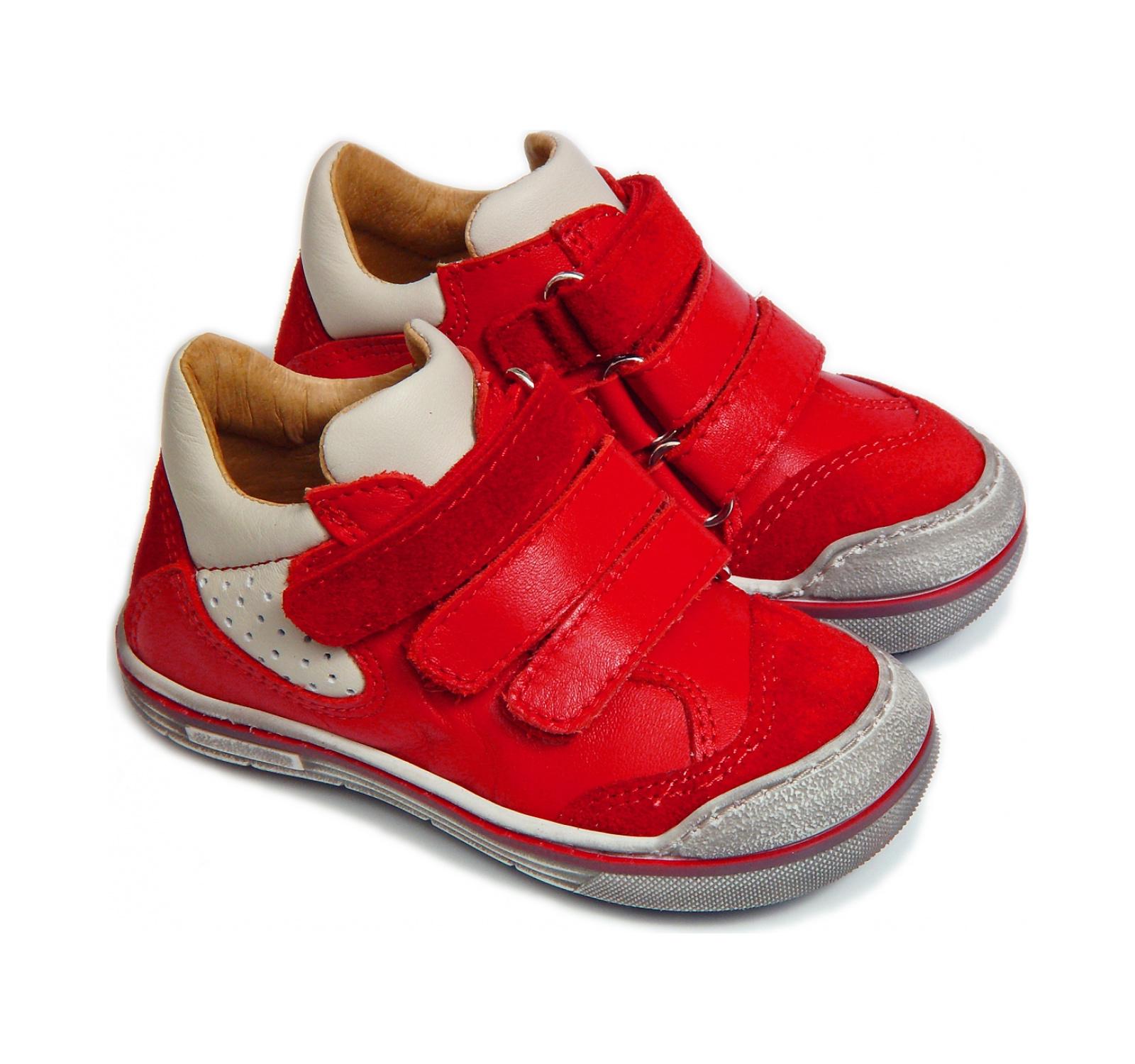 Avus® Pantofi sport piele Rosu