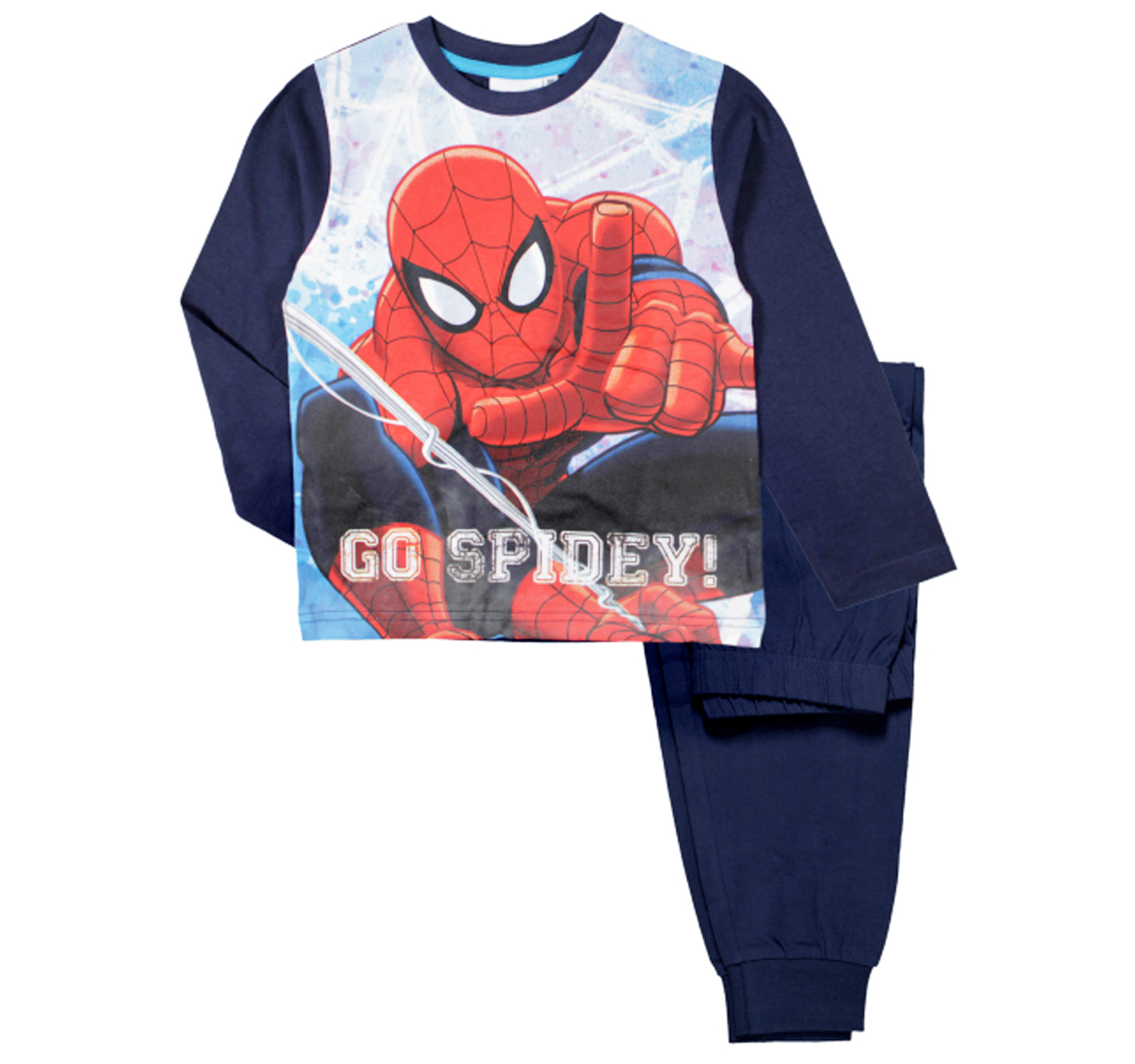 a99246c114 Baieti    Pijamale    Pijamale pantaloni lungi    Spider-Man® Pijama ...