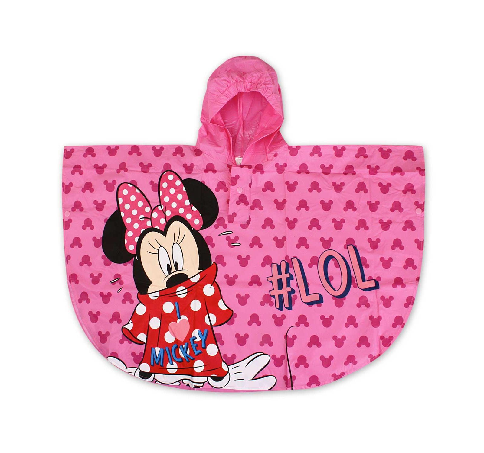 Minnie® Pelerina ploaie Poncho Ciclam 7501452