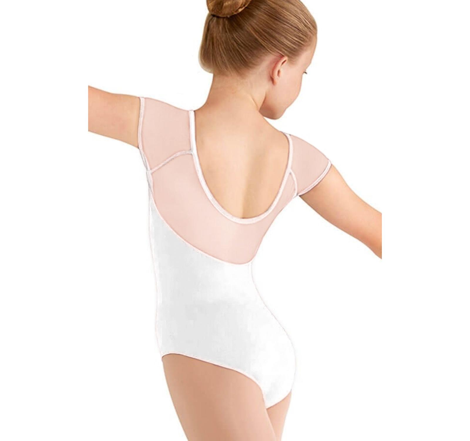 Body gimnastica & dans Alb Spandex 1106